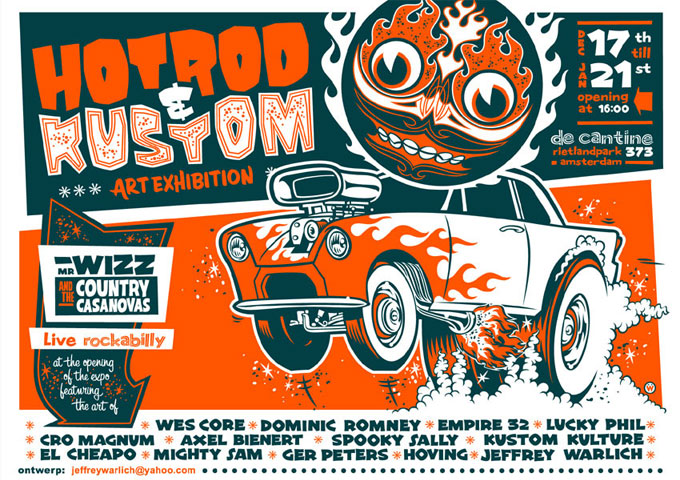 Hot Rod & Kustom Art Exhibition Amsterdam 2006