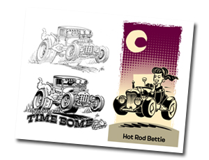 The HOT ROD Art of Ger Peters pagina 2