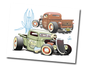 The HOT ROD Art of Ger Peters pagina 6