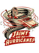 Jaimy and his Hurricanes logo