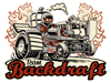 Team Backdraft mini tractor pulling pit crew T-shirt