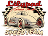 Lilypad Speed Shop belly tank dry-lakes racer logo design