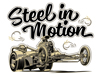 Steel in Motion - Hot Rods & Guitars - event T-shirts